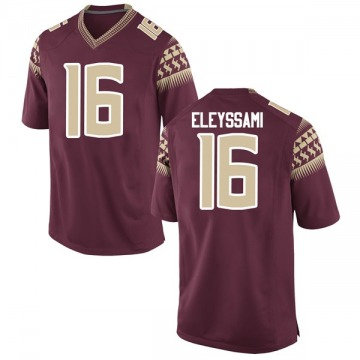 Men's Alex Eleyssami Florida State Seminoles Game Garnet Football College Jersey