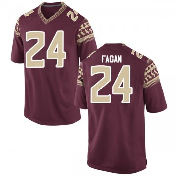 Youth Cyrus Fagan Florida State Seminoles Nike Game Garnet Football College Jersey
