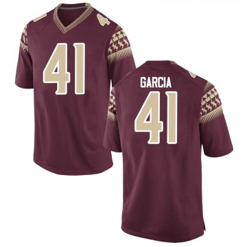 Youth Joseph Garcia Florida State Seminoles Nike Game Garnet Football College Jersey